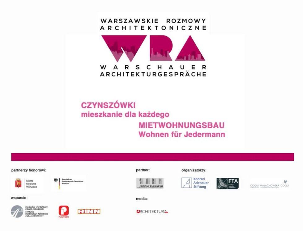 Warszawskie rozmowy architektoniczne