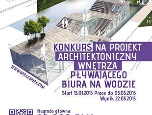Bargework - konkurs na projekt wnętrz biura na wodzie