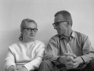 Oskar i Zofia Hansenowie w Muzeum nad Wisłą
